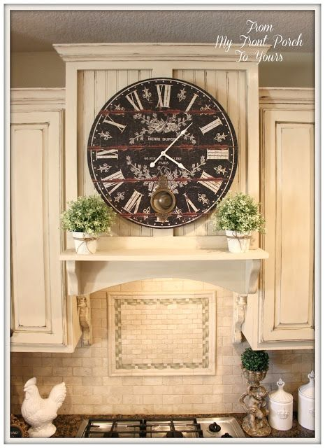spray kitchen cabinets 449 best decorating with clocks images on 2433