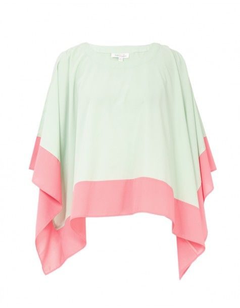 Mint Love & Peace Top to be paired with blue jeans and neon ballet flats