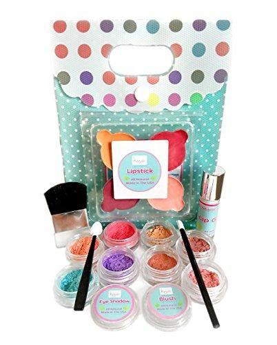 Young Girls Makeup Kit - All Natural, Certified Organic Kids Makeup Set