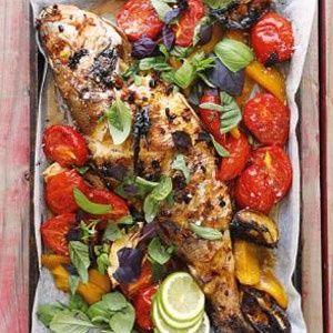 Sherry-roasted fish