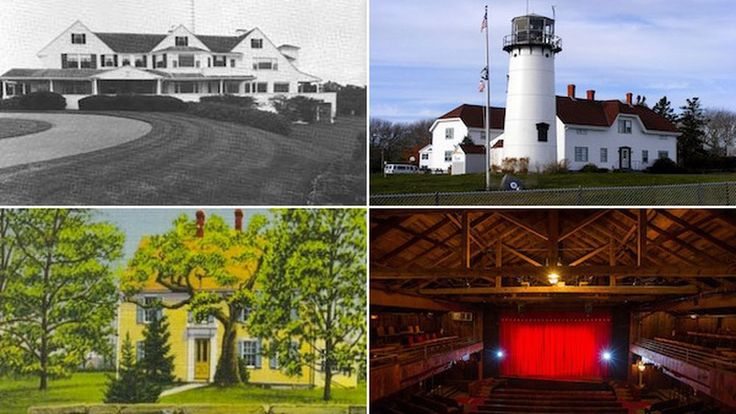 12 of Cape Cod's Most Iconic Buildings, Mapped