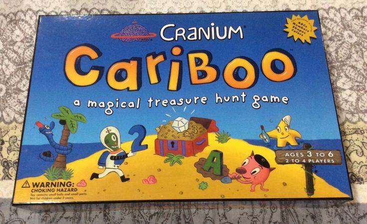 Original Edition CRANIUM CARIBOO A Magical Treasure Hunt Game 2002 NEW  #Cranium