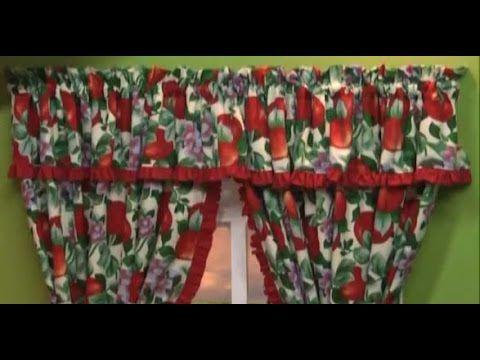 Como hacer una Cortina para la Cocina. Sonia Franco. 2/5 - YouTube