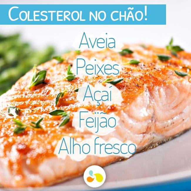 5 alimentos que derrubam o colesterol! http://maisequilibrio.com.br/saude/5-alimentos-que-combatem-o-colesterol-alto-5-1-4-695.html