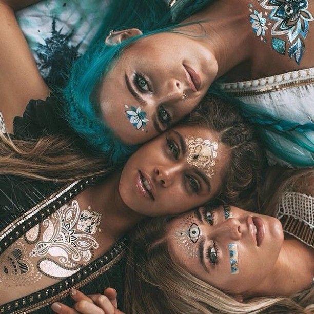 When Coachella comes around we transform into magical music fairies