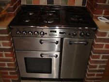 Rangemaster Professional 90 cm Dual (Electric and Gas) Kitchen Range
