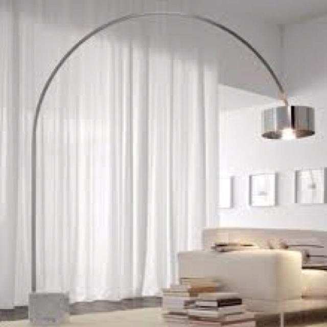 Perfect I Love Overhanging Floor Lamps.