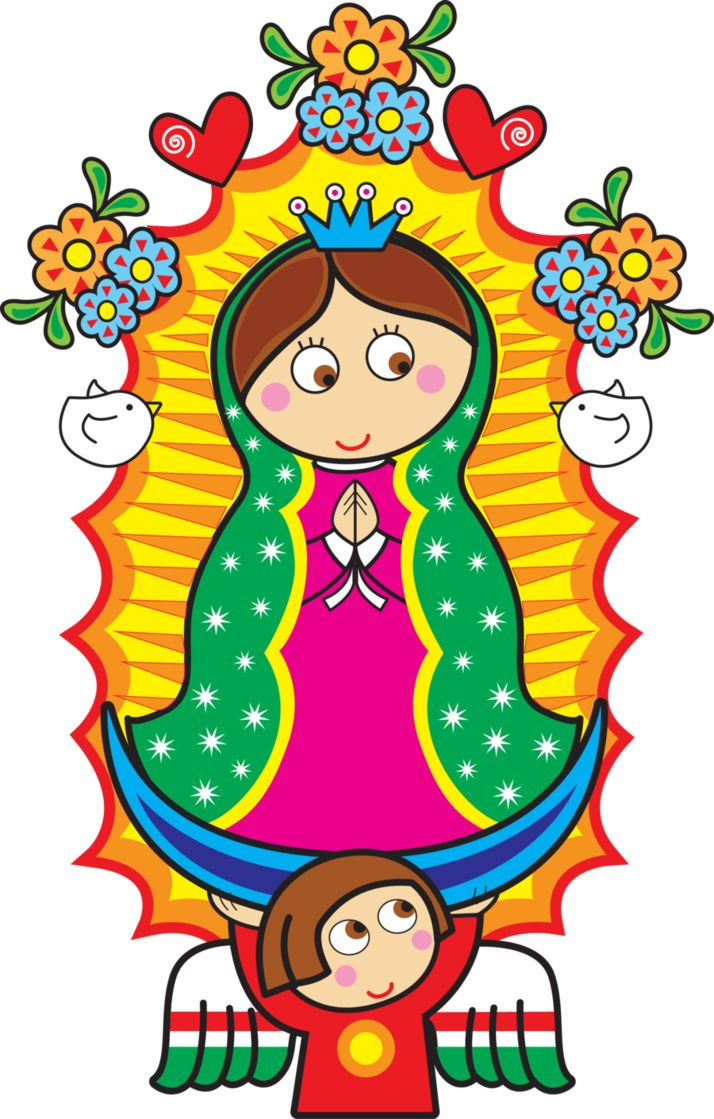 Distroller Virgencita Vector by zentryofchrist1