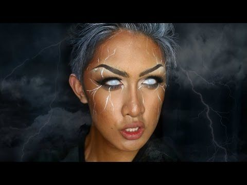 STORM (X-MEN) Makeup Tutorial - YouTube