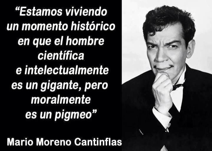 (Mario Moreno, Cantinflas)