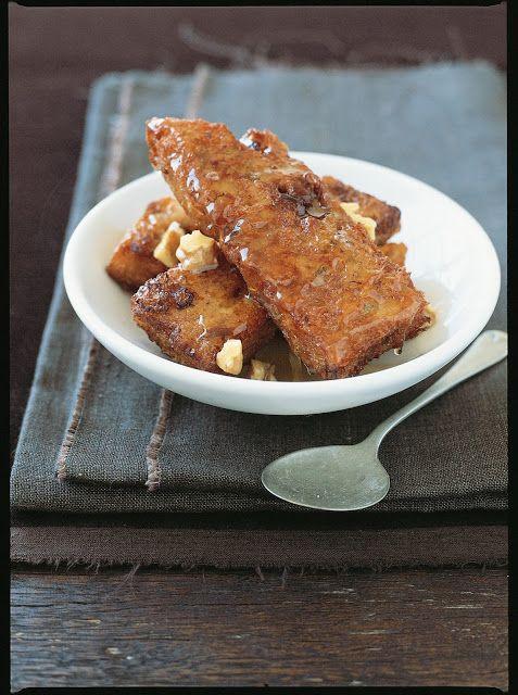 EATspeak: Cook this: Raisin Torrijas with Honey and Walnuts