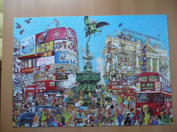 Puzzel Piccadilly  circus