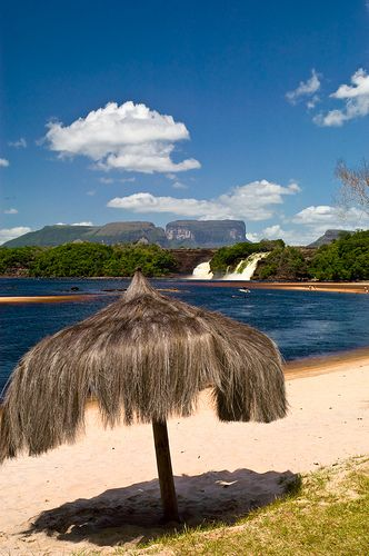 Incredibly beautiful Canaima, Venezuela.  http://www.lonelyplanet.com/venezuela/canaima
