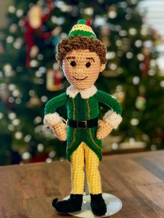 Buddy The Elf Christmas Countdown 2020 PDF Everyone's Elf Pal Crochet Amigurumi Pattern in 2020 | Buddy