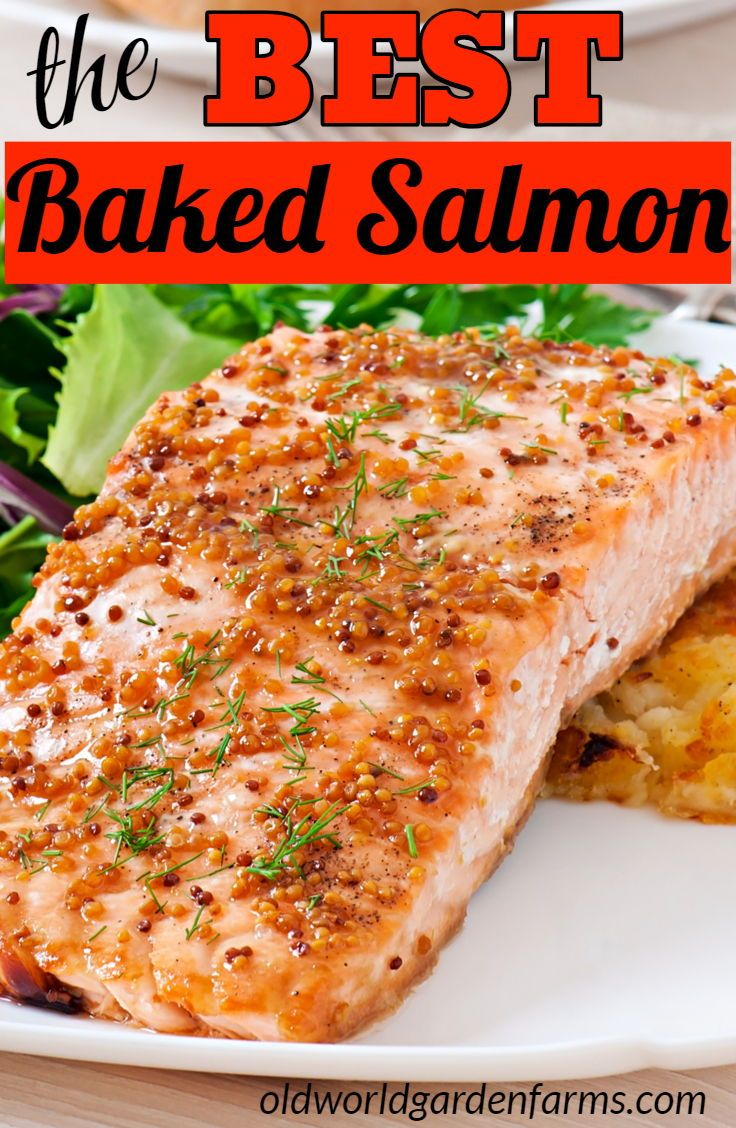 The Best Baked Salmon Recipe With A Delicious Glaze Healthy Omega3 Goodfat Recipe Baked Salmon Recipes Easy Salmon Recipes Salmon Recipes Baked Healthy