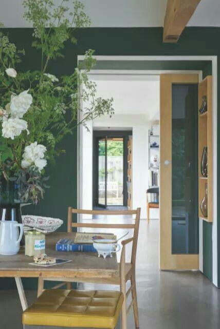 Best Farrow And Ball Green Dining Room Dark Green Walls 400 x 300