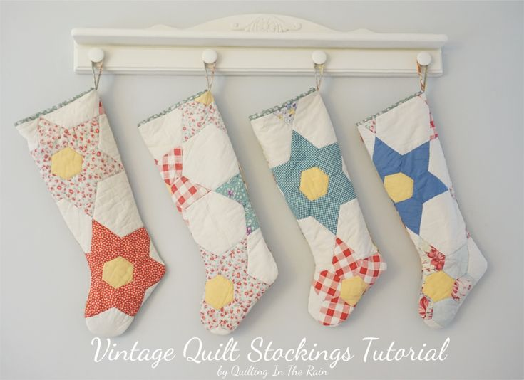 Hi All! It feels so GOOD to finally sew something again! I was up late the other night making these Christmas stockings, and then I got so excited I filmed a video tutorial for you all. Heads up th…