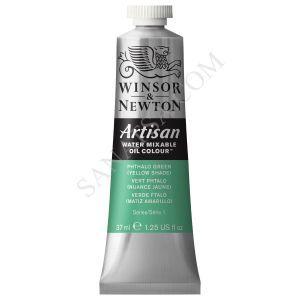 Winsor & Newton Artisan Su ile Karışabilen Yağlı Boya 521 Phthalo Green (Yellow Shade)