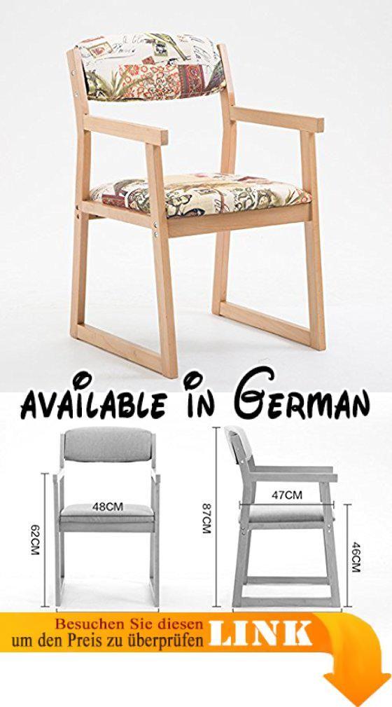 b078smch37 stuhl massivholz esszimmerstuhl adult modern simple haushalt tische und sthle rckenlehne computer stuhl - Hinterhoflandschaftsideen