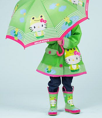 Hello Kitty Rain Gear