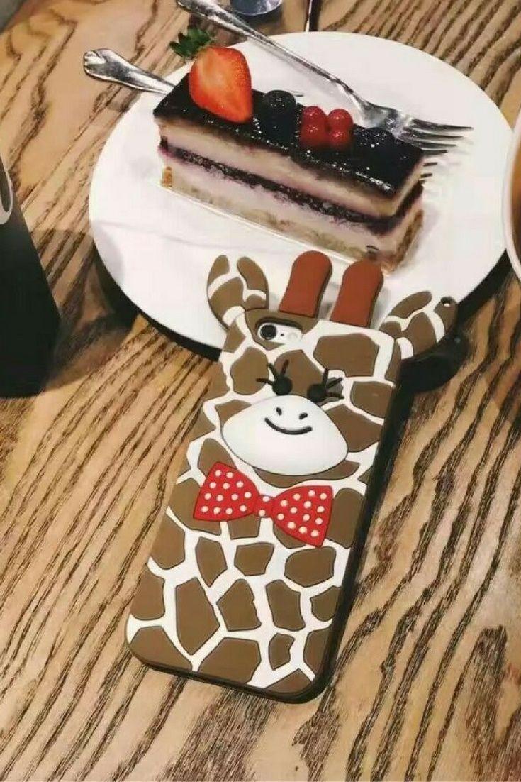 Cute giraffe animal Iphone 6 & Iphone 6 plus protective case