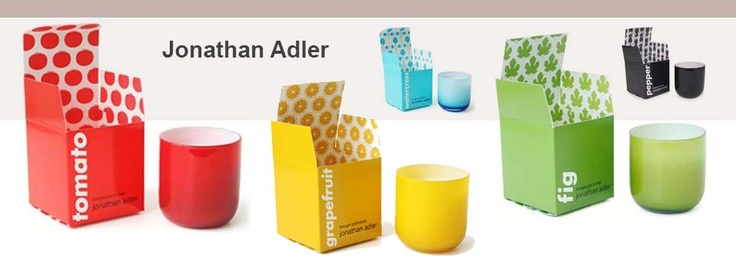Pop Candles – Les bougies by Jonathan Adler