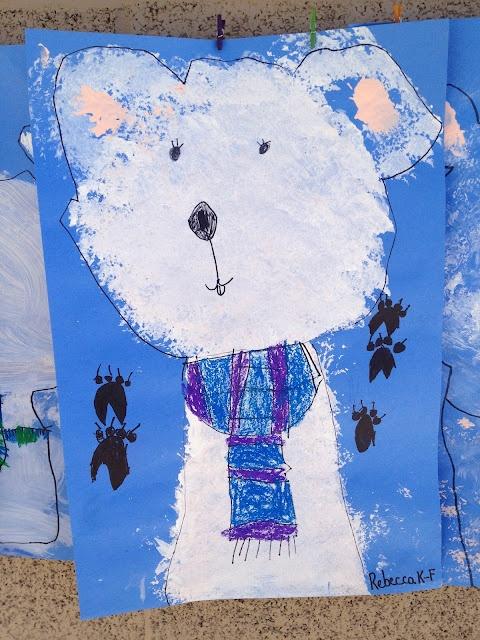 Kindergarten Polar Bears, how cute!