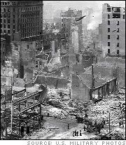 San Francisco Earthquake: The 1906 earthquake ranks as one of the worst natural disasters in US history. Affected 375,000 square miles, half of which were in the Pacific Ocean. Ruptured San Andreas Fault for about 290 miles. It traveled at about 5,900 mph. Devastated northern CA areas including Santa Rosa, San Jose, and Santa Cruz. Estimated property damage of $ 400 million, or more than $ 8 billion in today's $. First major natural disaster to have its effects recorded by photography.