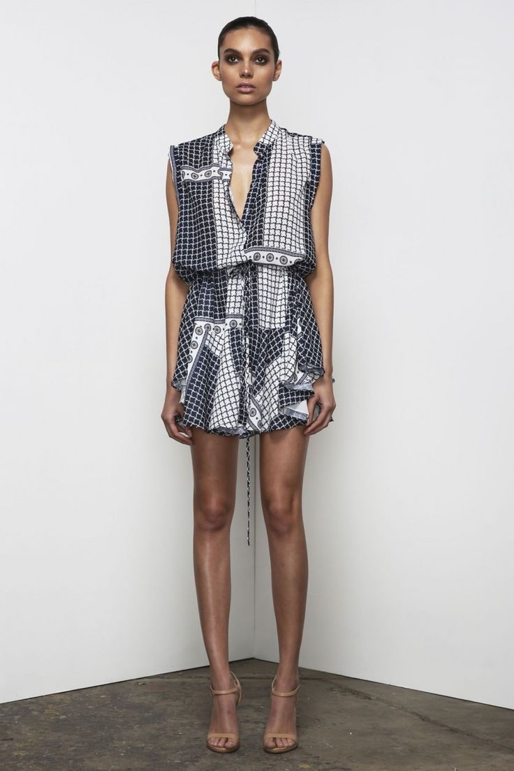 Shona Joy - Meridian Drawstring Shirt Dress