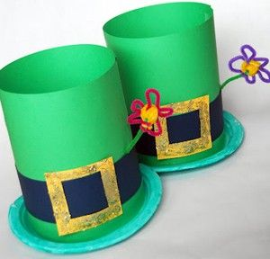 Leprechaun Hats craft idea