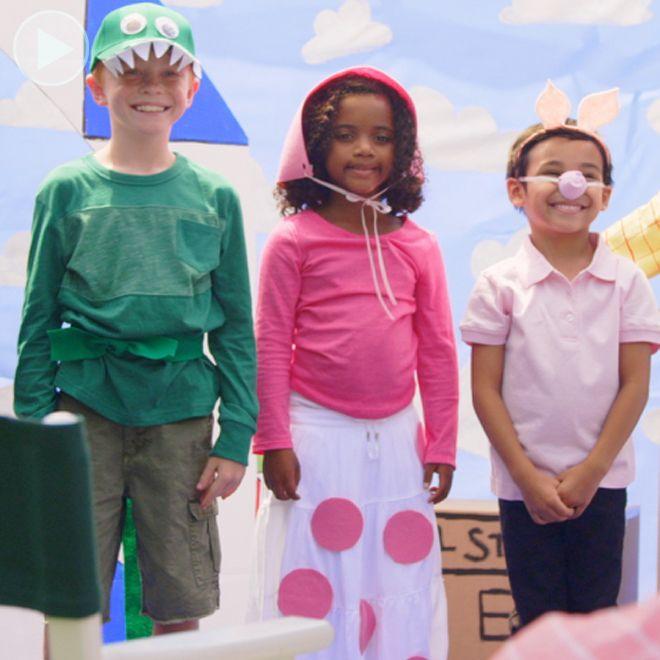 Toy Story kostuums van Bo Peep, Rex en Ham