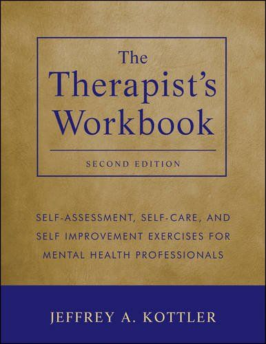 Important book for all therapists: The Therapist's Workbook: Self-Care and Self-Improvement Exercises for Mental Health Professionals by Kottler http://www.amazon.com/dp/1118026314/ref=cm_sw_r_pi_dp_NP4uub1NCM56B