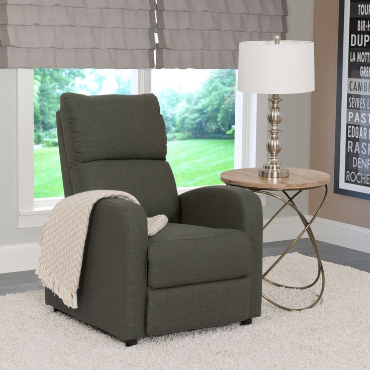 CorLiving Moor Linen Contemporary Recliner Chair : seat and a half recliner - islam-shia.org