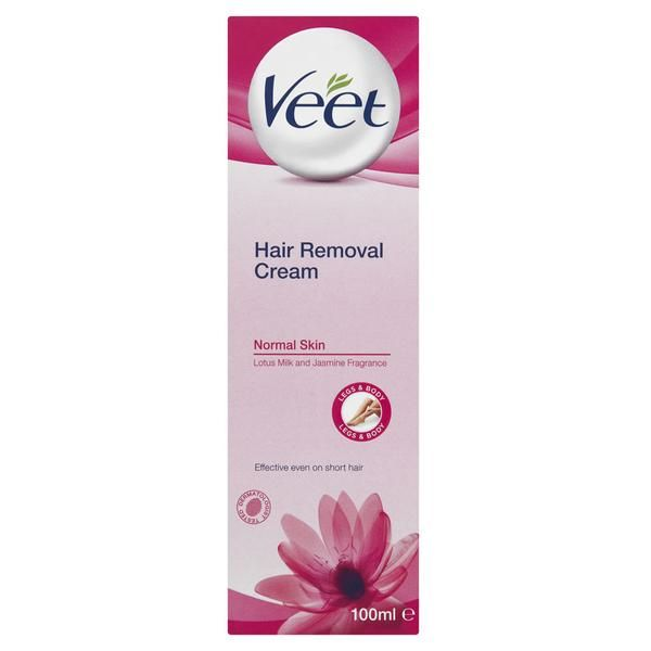 Get touchably smooth skin that lasts up to twice as long as shaving. Veet Hair Removal cream effectively removes even the shortest #hair. #haircare