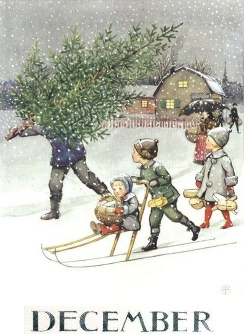 December Elsa Beskow