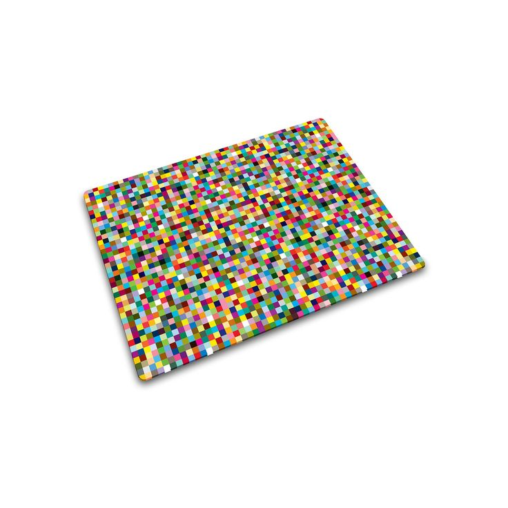 Joseph Joseph Mini Mosaic Glass Chopping Board, Multicolor