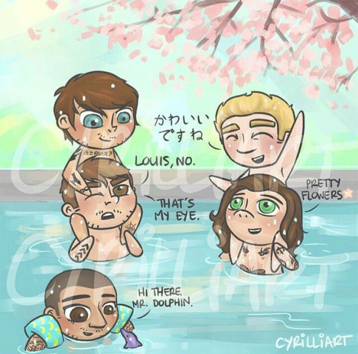 One Direction Fanart || THIS IS TOO CUTE