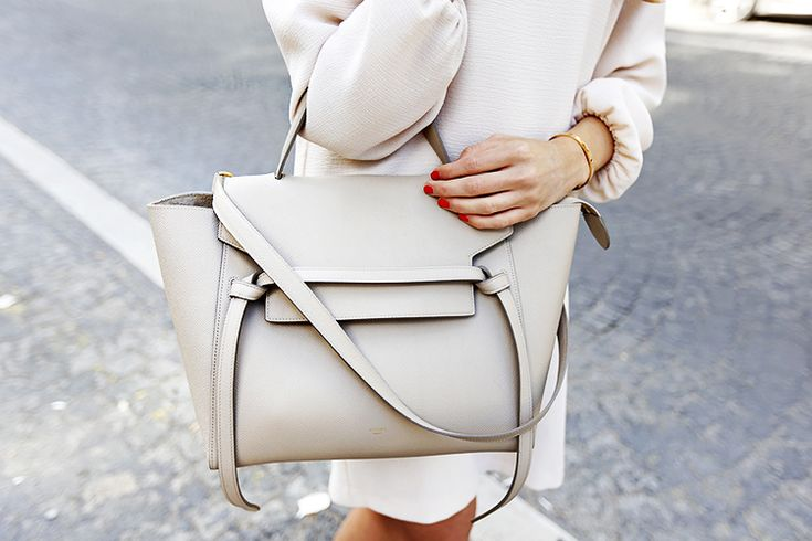 Céline Light Beige Bag