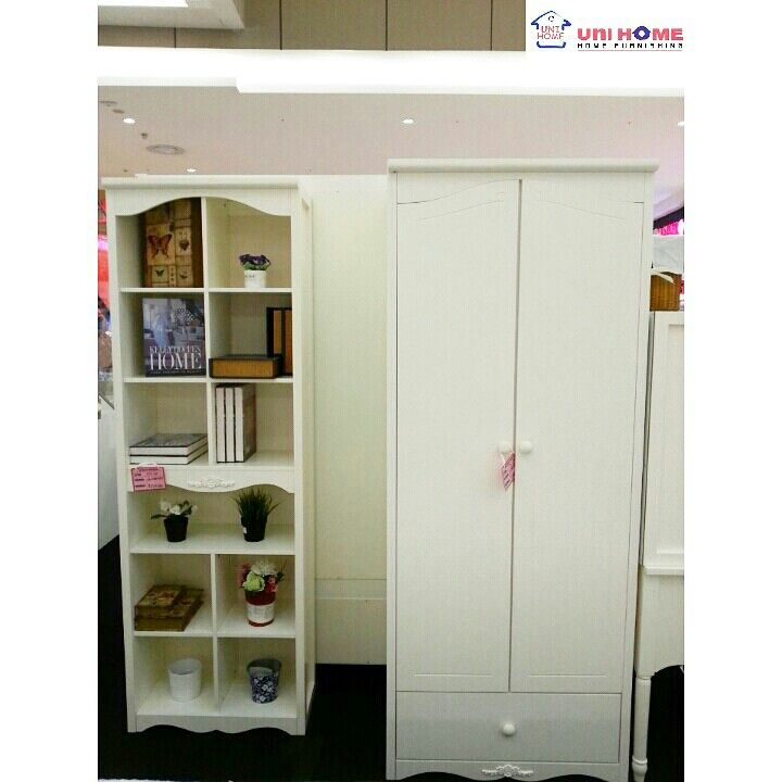 Bookcase and Wardrobe Milan Series... Let's visit our showroom at Ruko Emerald Avenue 2 B12, Jln Boulevard Bintaro Jaya, Sektor 9, Tangerang Selatan. 021-22210817 / 0812-1385-7691