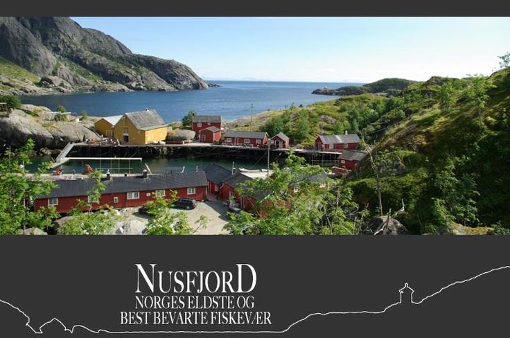 Nusfjord - Norges eldste og best bevarte fiskevær - dnb
