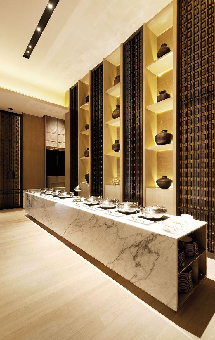 SCDA Rang Mahal Restaurant II, Singapore- Buffet Area