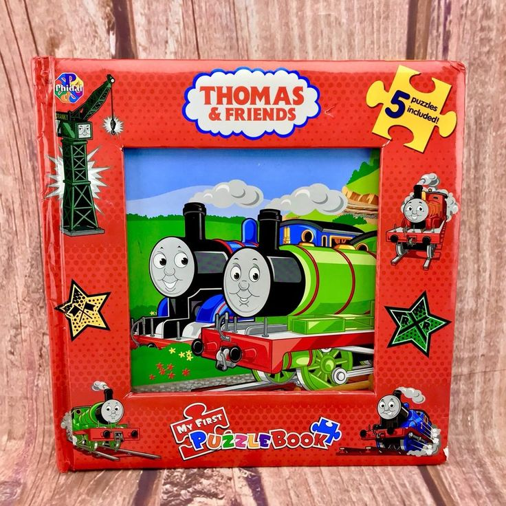 Thomas the tank engine and friends My First Puzzle Book NO puzzles great picture