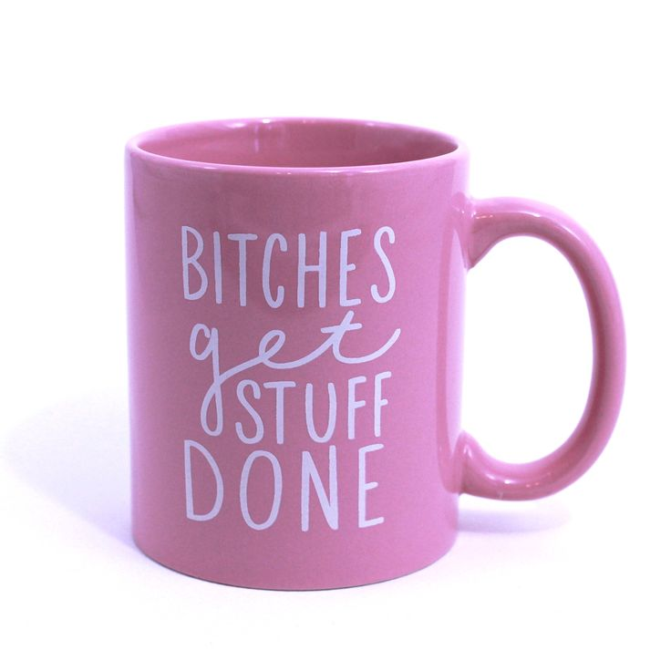 Printed on both sides (south paw's unite!), and featuring the immortal words of Tina Fey. You need this mug. Holds 11 oz of coffee (with Bailey's, ideally).