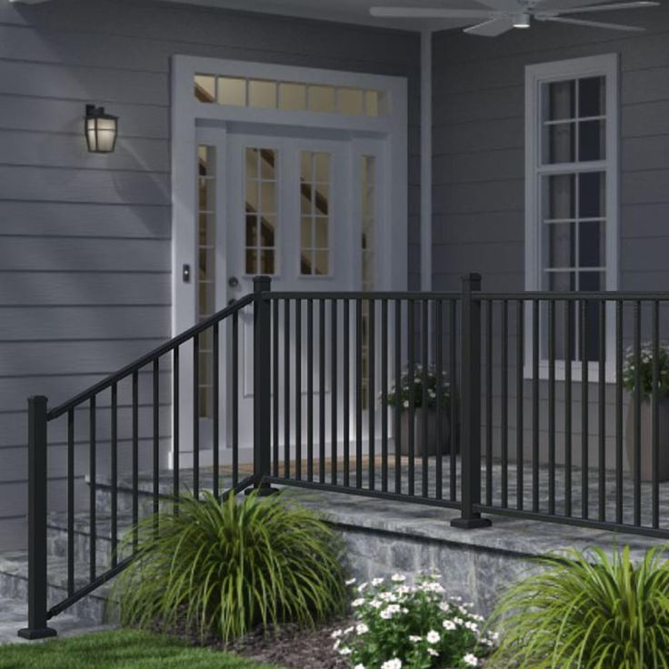 36 Creative Deck Railing Ideas For Inspire What You Want In 2020 Outdoor Stair Railing Patio Railing Railings Outdoor