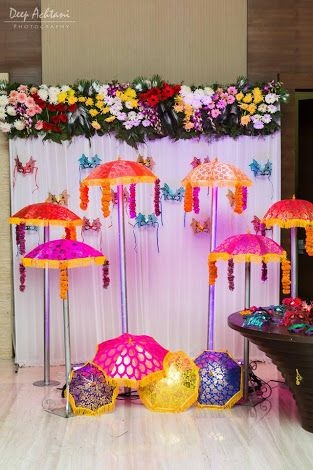 Indian theme wedding photo booth
