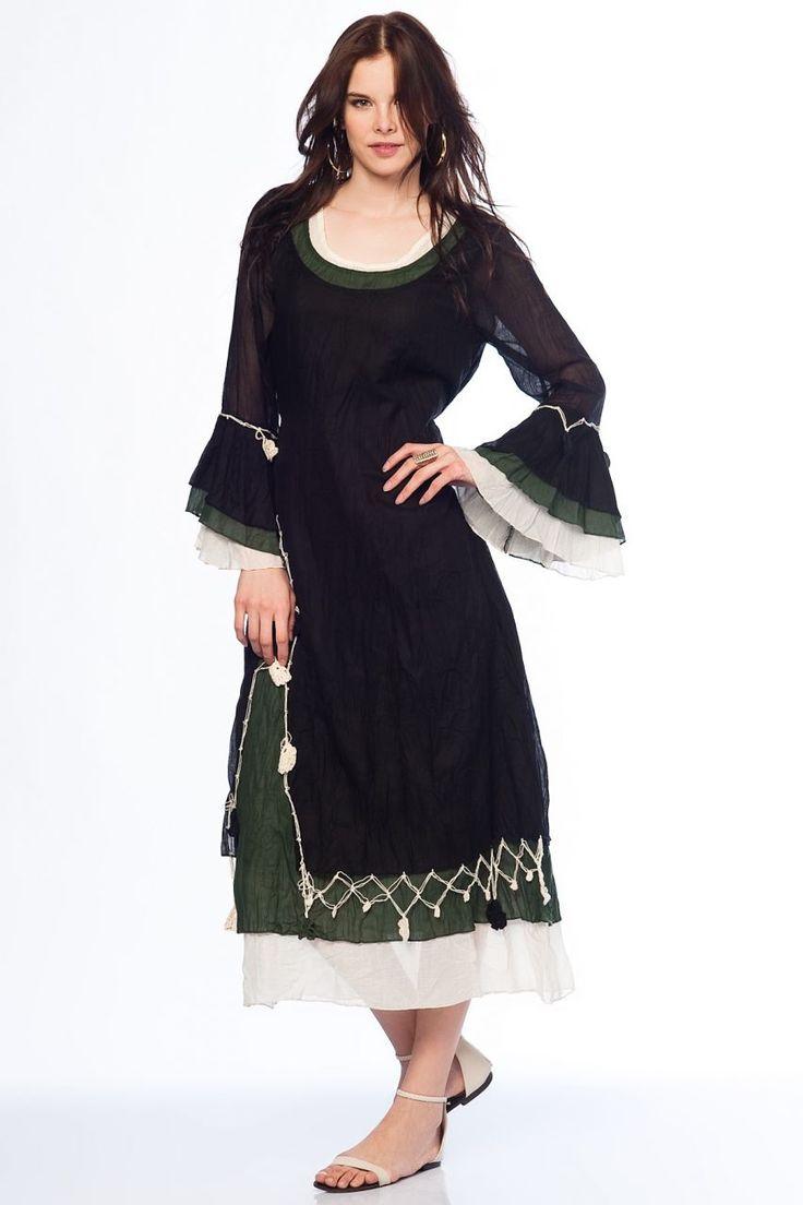 Otantik Gümbet Elbise - Siyah