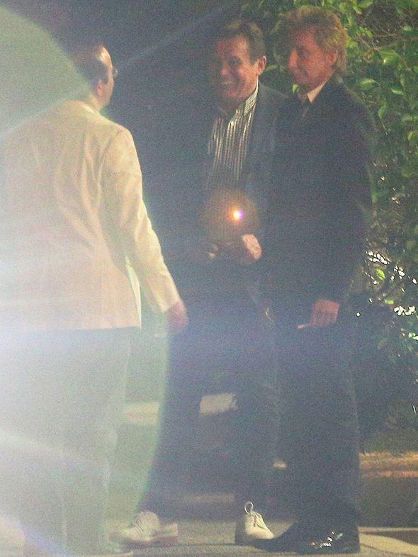 Barry Manilow husband Garry Kief photos wedding