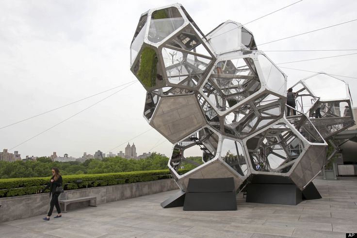 'Cloud City' By Tomas Saraceno @The Metropolitan Museum Rooftop