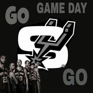 San Antonio Spurs Game Day-Go Spurs Go