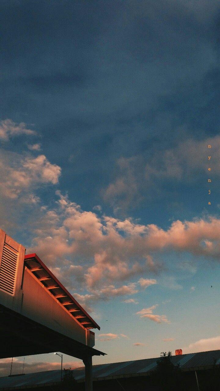 Langit Sore Langit Fotografi Instagram